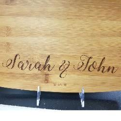 Cutting Board Engraving