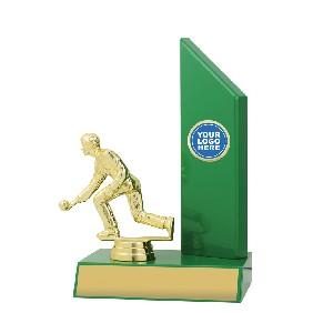 Lawn Bowls Trophy X1615 - Trophy Land