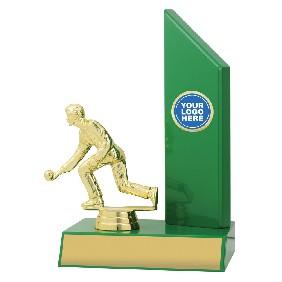 Lawn Bowls Trophy X1616 - Trophy Land
