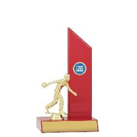 Ten Pin Bowling Trophy X1623 - Trophy Land