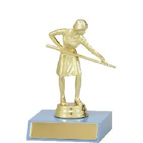 Snooker Trophy X4032 - Trophy Land