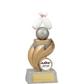 Ten Pin Bowling Trophy X4189 - Trophy Land